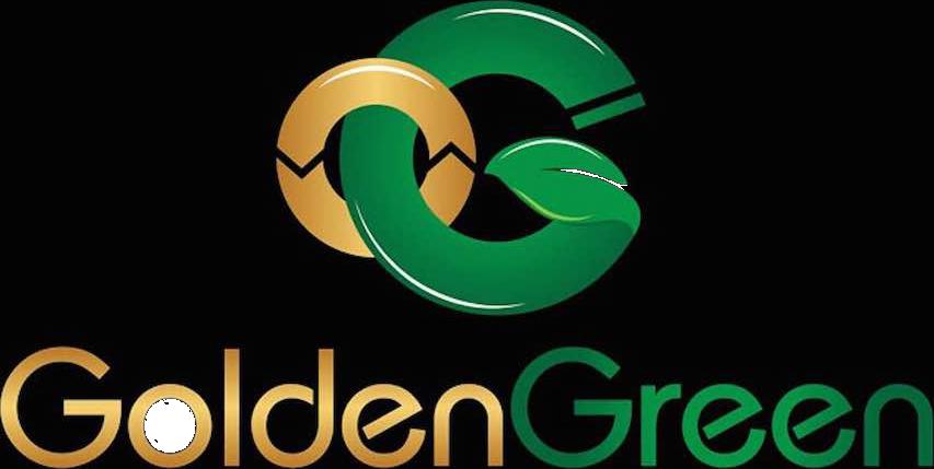 Golden Green Transparent Logo